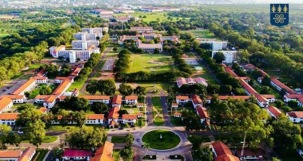 University of Ghana campus – Aerial view